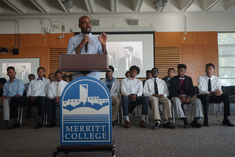 BOEN Speaking At Merritt College